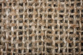 Background of crumpled burlap close up Royalty Free Stock Image