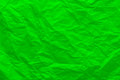 Background of crumpled green paper Royalty Free Stock Photo