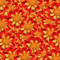 Background with Dahlia flowers Royalty Free Stock Photos
