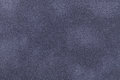 Background of dark gray and blue suede fabric closeup. Velvet matt texture of nubuck textile Royalty Free Stock Photo