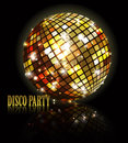 Background for disco party Royalty Free Stock Photography