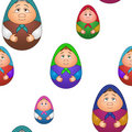 Background, dolls matreshka Royalty Free Stock Image