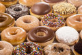 Background of Donuts Royalty Free Stock Photo