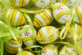 Background of Easter eggs Royalty Free Stock Images