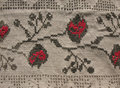 Background. embroidery pattern Royalty Free Stock Image