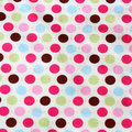 Background fabric polka dot Royalty Free Stock Photography