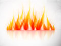 Background fire abstract illustration Stock Photos