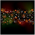 Background with flare preview abstract for greeting cards Royalty Free Stock Image