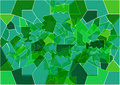 The background in the form of broken green glass,stained glass Royalty Free Stock Photo