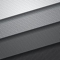 Background of four carbon fiber patterns Royalty Free Stock Photography