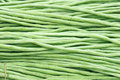 The background of fresh cowpea pods Royalty Free Stock Photography