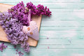 Background  With Fresh Lilac F...