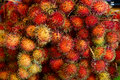 The background of the fruit of rambutan Royalty Free Stock Photo