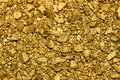 Background Of Gold Nuggets