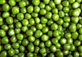 Background of green peas Royalty Free Stock Photos