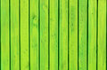 Background of the green wooden fence