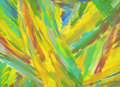 Abstract textured acrylic and oil pastel hand painted background