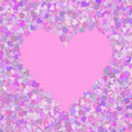 Background with hearts purple beautiful can be used as for design Royalty Free Stock Photography