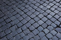 Background image of old cobblestone road Royalty Free Stock Images