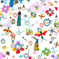 Background for kids Royalty Free Stock Photos