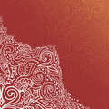 Background with lace ornament Stock Photos