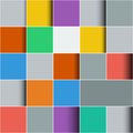 Background made of colorful squares Royalty Free Stock Images