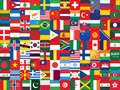 Background made of flag icons world Royalty Free Stock Photo