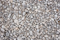 Background Made Of Gray Pebbles