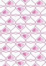 The background made from hearts Royalty Free Stock Images