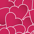 Background made of red heart stickers eps and also includes Royalty Free Stock Image