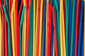 Background made of straws Stock Photo