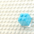 Background made of toy blocks Royalty Free Stock Photos