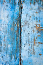 Background made from withered wood boards of with peeling blue paint Royalty Free Stock Photo