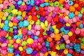Background of many beads to make necklaces Royalty Free Stock Photo