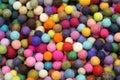 Background of many balls Royalty Free Stock Photo