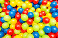Background of many colourful balls Royalty Free Stock Photo
