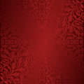 Background maroon and red with ornaments Stock Images