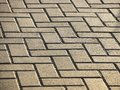 Background masonry brick path diagonal pattern Royalty Free Stock Photo