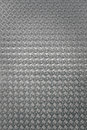 Background metal diamond plate silver color Stock Images