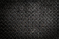 Background of metal diamond plate Royalty Free Stock Photo