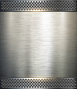 Background metallic Stock Image