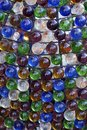 Background with multicolored glass spheres Royalty Free Stock Photo