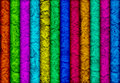 Background of multicolored textured lines Royalty Free Stock Photography