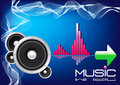 Background Music -EPS Vector- Royalty Free Stock Image