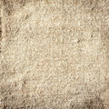 Background of natural burlap with a coarse woven texture and fibre Stock Images