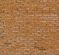 Background of an old brick wall at thai Royalty Free Stock Image