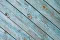 Background old chapped blue wooden Stock Images