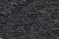 Background Old Dark Gray Stone...