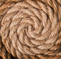 Background of old rope Stock Photography