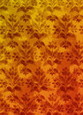 Background old wallpaper antique pattern retro Royalty Free Stock Image
